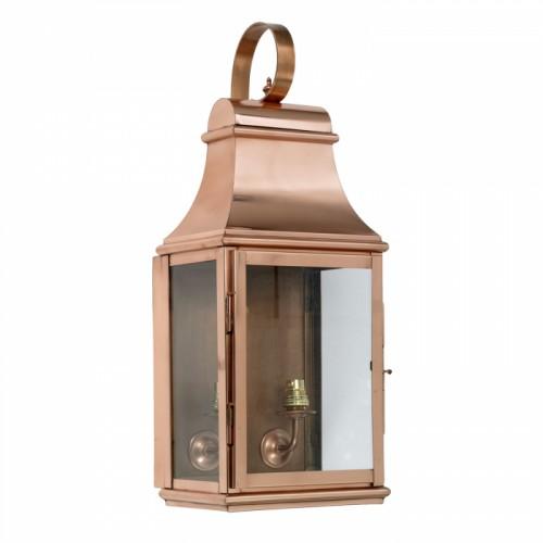 """""""Warrington"""" Wall Lantern Finished in Copper"""