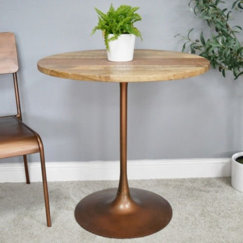 Antique Copper Dining Table in Situ