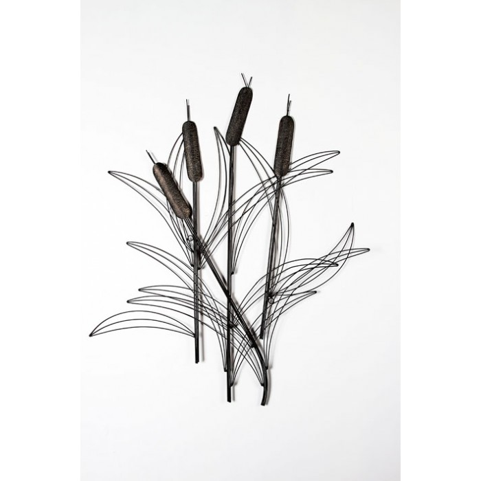 Bulrushes Wall Art Wall Art Living Amp Interiors