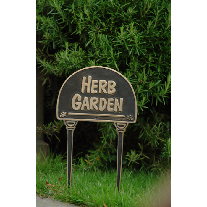 herb garden lawn sign lawn signs plant veg herb labels garden