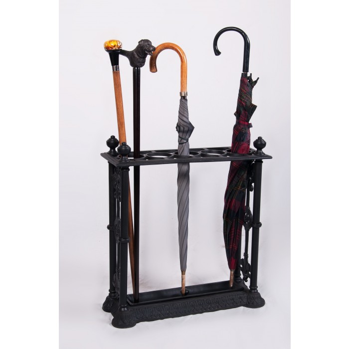 Priory Lane Cast Iron Umbrella Stand Black Country Metal Works