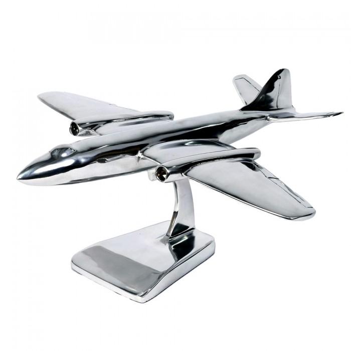 Speed Of Sound Aluminium Plane Ornament Black Country