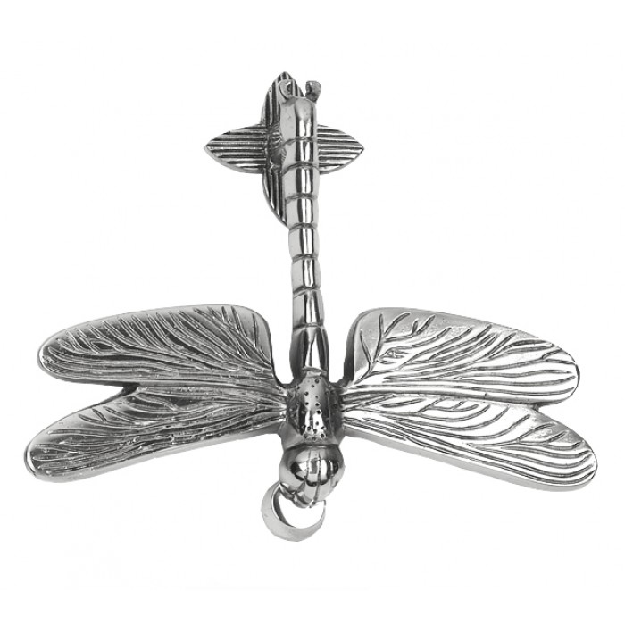 Lovely Click To Enlarge. BCMW Free Delivery. Bright Chrome Luna Dragonfly Door  Knocker