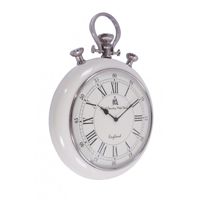 pocket watch wall clock milner estate pocket wall clock black country 29539