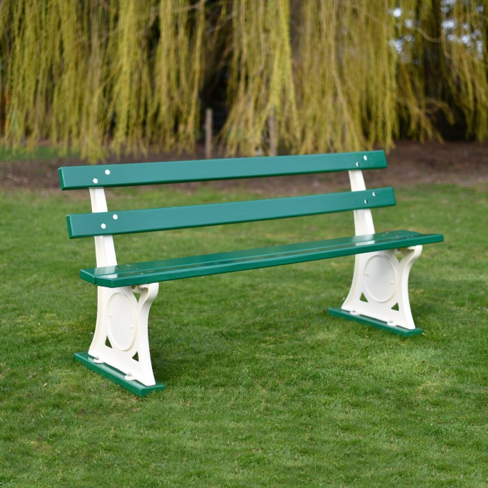 Marvelous Cast Metal And Wood Parklands Bench Black Country Metalworks Customarchery Wood Chair Design Ideas Customarcherynet