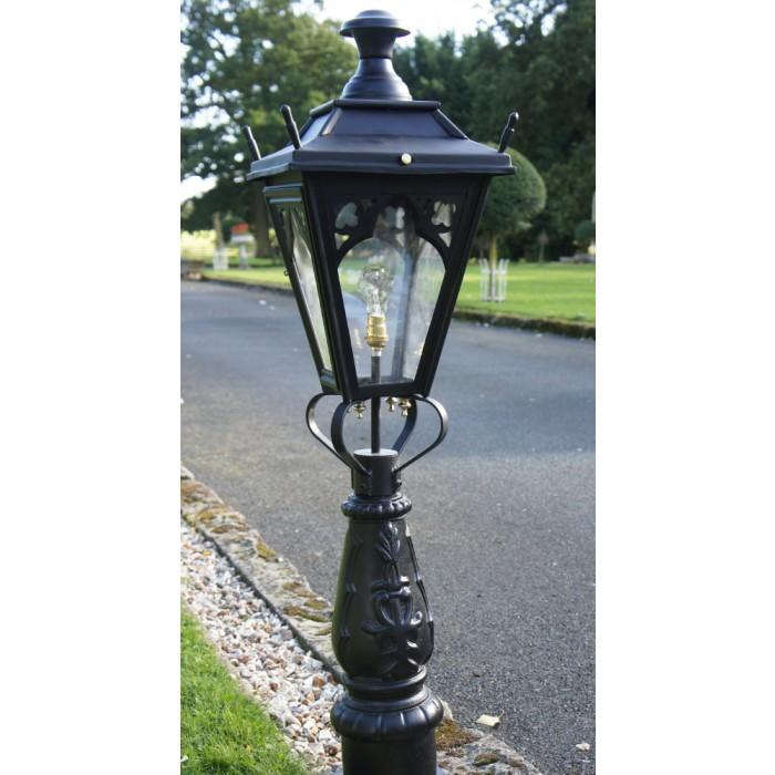 "Pillar Lights Driveway Lights: ""Gothic Design"" Driveway And Patio Lighting 105cm"