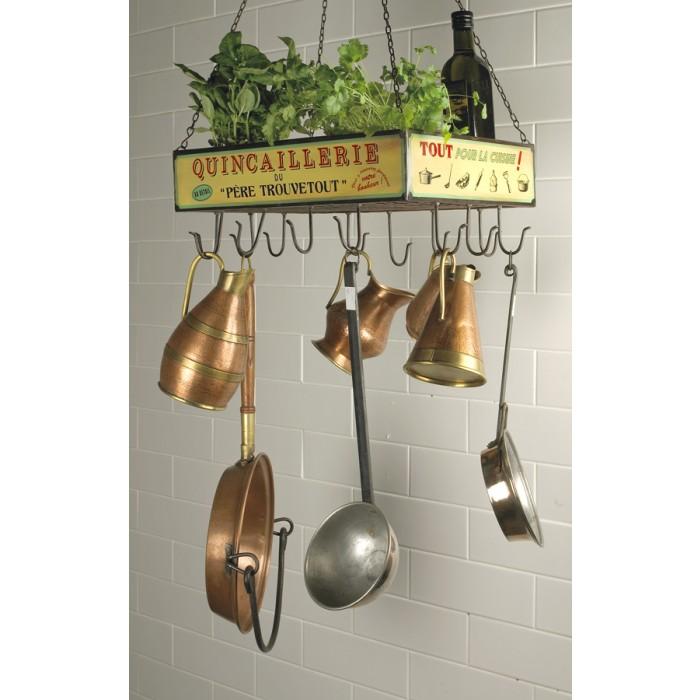 Kitchen Hanging Racks For Utensils Uk