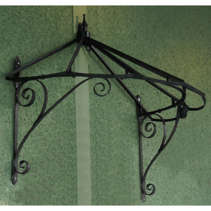 Honeysuckle Cottage Over Door Canopy Hand Made In Wrought