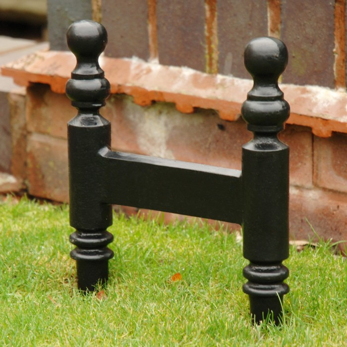 "Smithers"" Cast Iron, Victorian Boot Scraper 