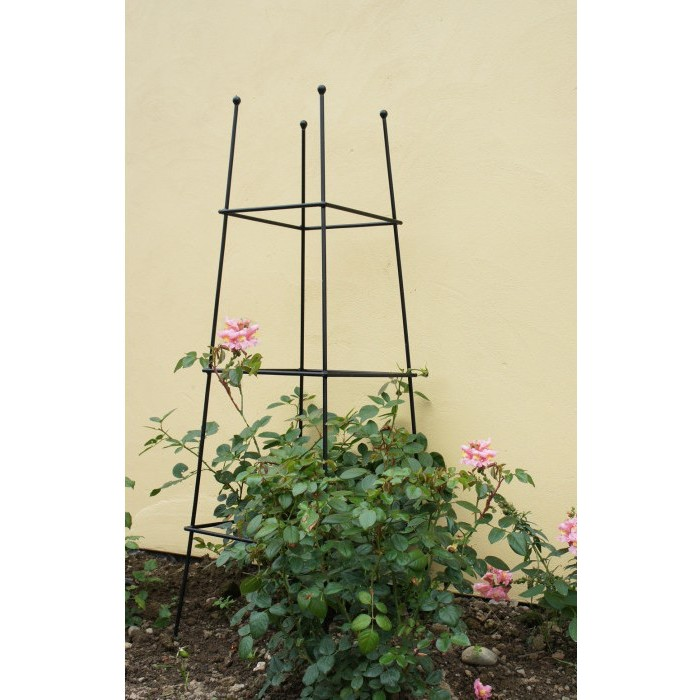 how to use an obelisk in the garden