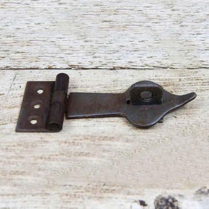 Suffolk Latch Arrow Head Staple Pin 135mm long