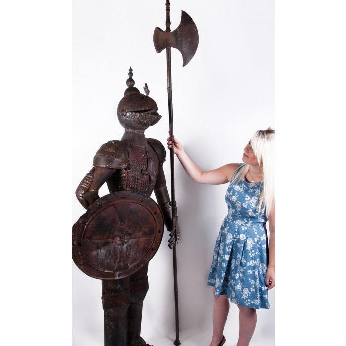 "16th Century ""White Knight"" replica, ornamental suit of armour ..."