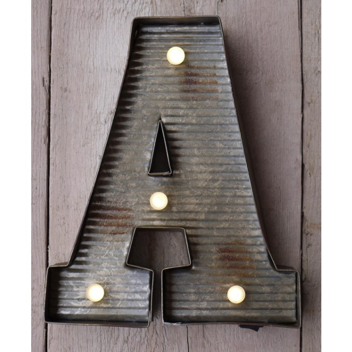 Letter A Wall Light - Letter Wall Lights - Living & Interiors - Home & Interiors - Category ...