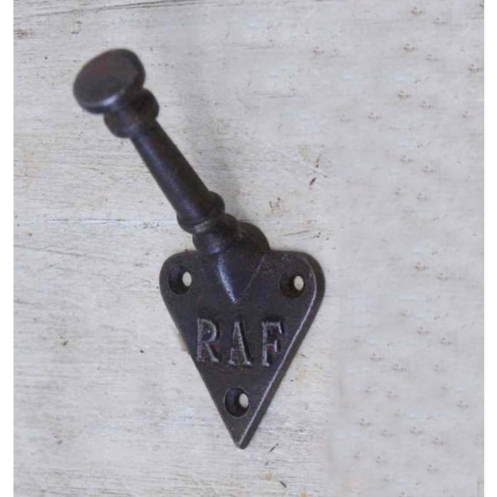 Polished Cast Iron Bayswater Iron Coat Hook