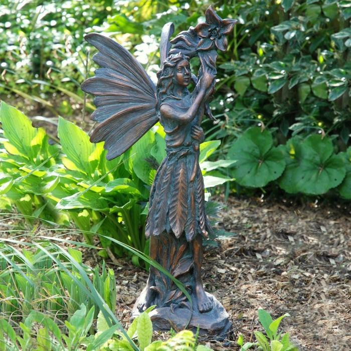 Traditional Fairy Garden Sculpture, Fairy Garden Statues Uk