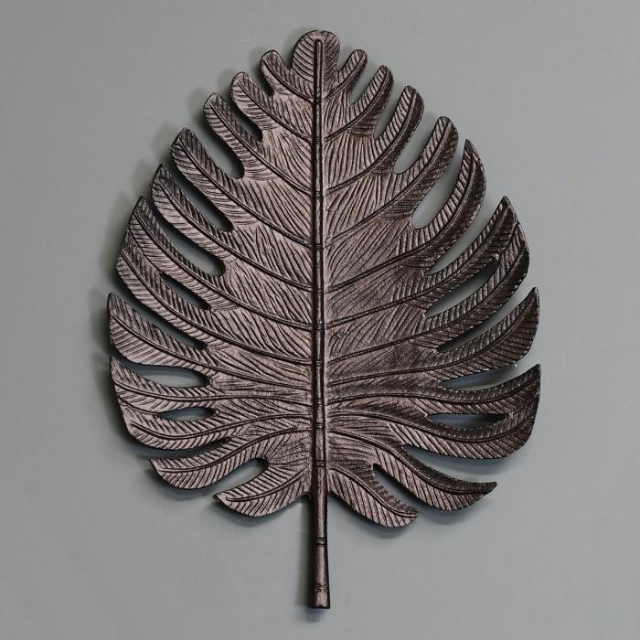 Large Black Palm Leaf Wall Art Black Country Metalworks
