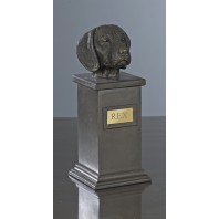 Beagle Bronze Dog Treat Jar