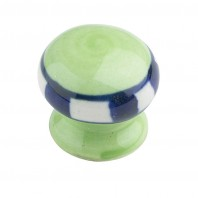 """Meadowbright"" Ceramic cupboard knob - V7"