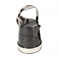 """Shaftsbury"" Bright Chrome Classic Watering Can - 1 Gallon"
