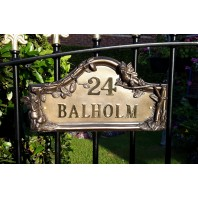 Flower Fairies House Name Sign