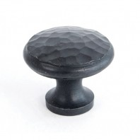 30mm Hammered Beeswax Cabinet Knob