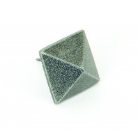 Pewter Pyramid Door Stud Large