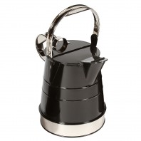"""Shaftsbury"" Bright Chrome Classic Watering Can - 3 Gallon"
