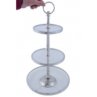 """Henderson Hall"" Three Tier Cake Stand"
