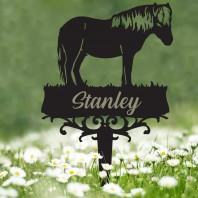 Shetland Pony Memorial Ground Spike