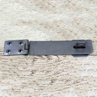 "6"" Plain Iron Hasp & Staple"