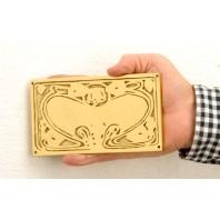 Detailed Brass Engraveable plaque