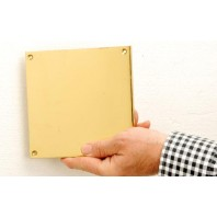 Square Engraveable plaque