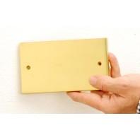 Plain Engraveable Plaque