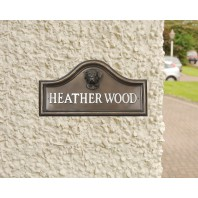 Boxer House Name Plaque