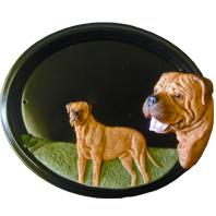 House Sign - Hand Painted - Bull Mastiff