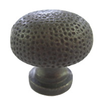 Cast Iron Self Colour Dimpled Cupboard Knob