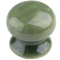 """Soft Sage"" Ceramic Cupboard Knob"