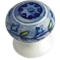 """Overwater House"" Ceramic Cupboard Knob"