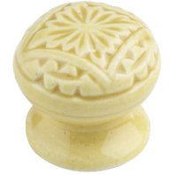 """Brockslen Square"" Ceramic Cupboard Knob"