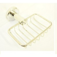 The Royal Bright Chrome Soap Basket