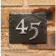 Slate Effect House Numbers