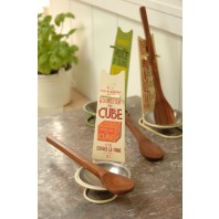 Spoon Rest and Wooden Spoon - Bouillon Cube