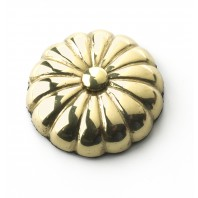 35MM Solid Brass Sunflower Motif