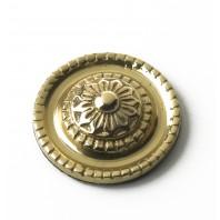 33MM Solid Brass Ornate Motif