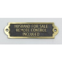 Husband For Sale Remote Control Included