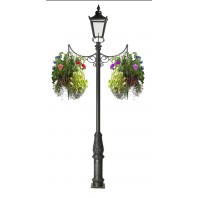 Scroll Design Hanging Basket Bracket