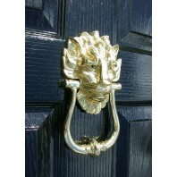 Door Knocker Downing Street Lion