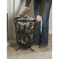 Sherwood Iron Log Basket