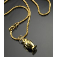"""Toujours"" Memorial Urn Pendant Necklace"