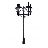 Quintuple Victorian Lamp Post